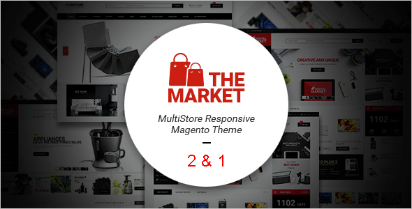 Magento Ecommerce Technology Website Template