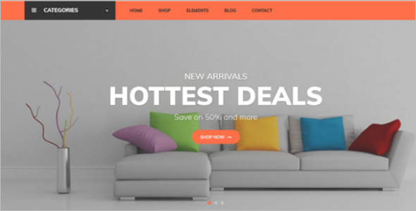 Magento Ecommerce Website Template
