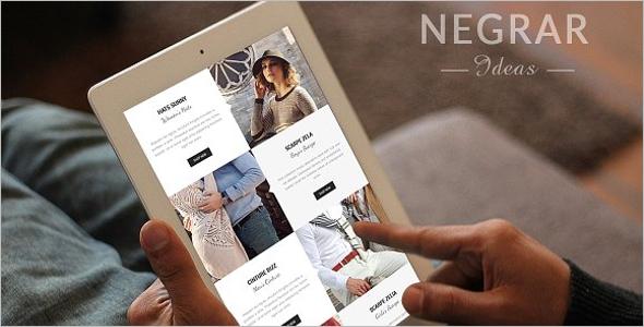 Magento Fashion Website Theme