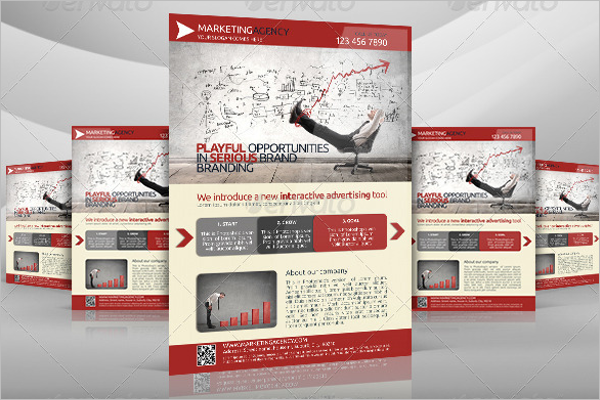Marketing Flyer Design Template