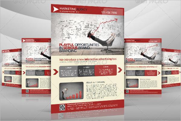 Marketing Flyer Design Template