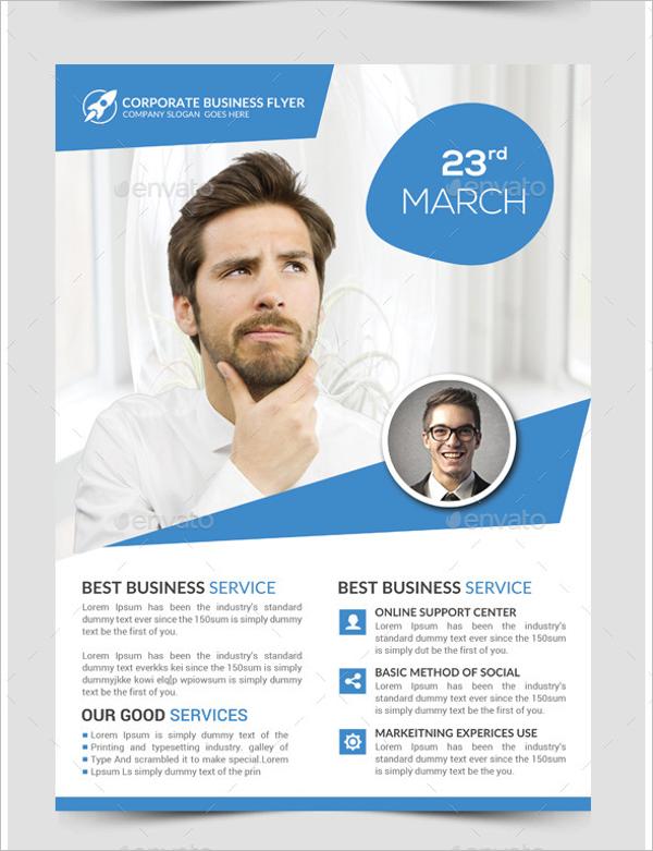 Marketing PSD Flyer Template