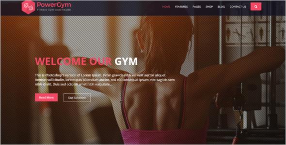 Massage Sports Website Template