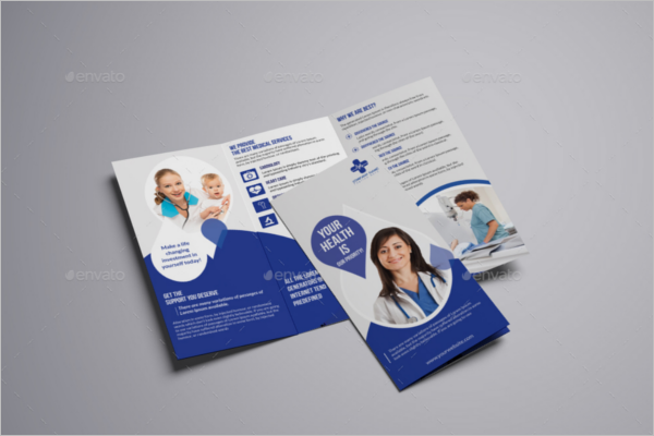 Medical Brochure Design Idea