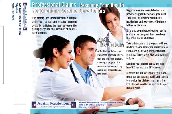 Medical Brochure Template Microsoft Word