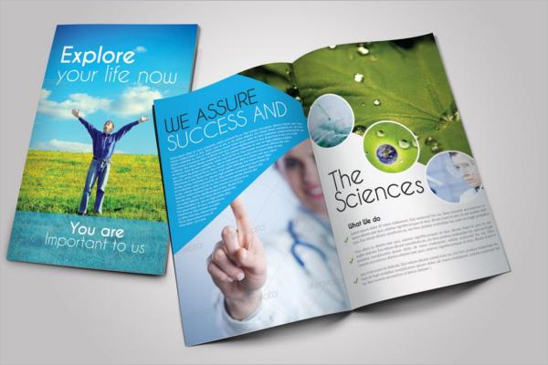 Medical Brochure Template Vector