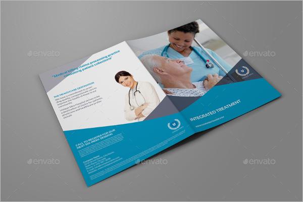 Medical Care Brochure Template