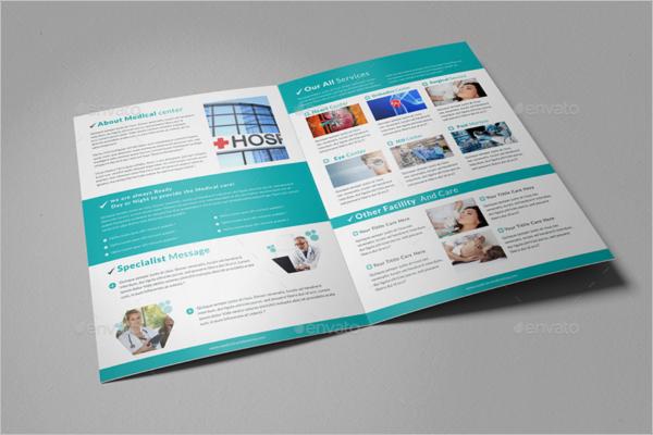 Medical Center Brochure Template