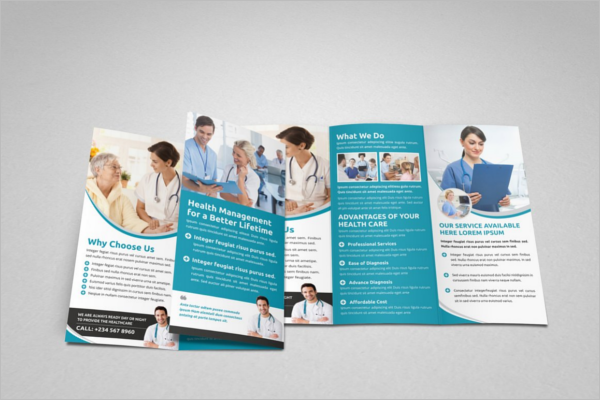 46 medical brochure templates free pdf examples designs for Medical office brochure templates