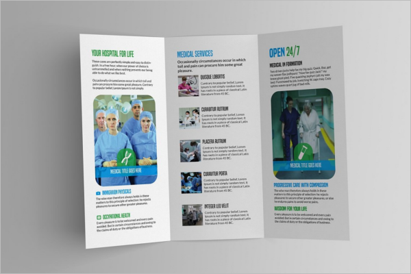 Medical Practice Brochure Template