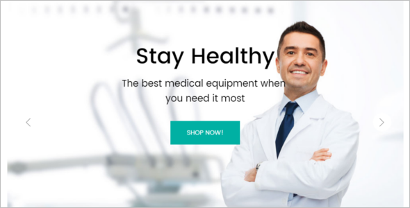 Medical Store Responsive Magento Theme