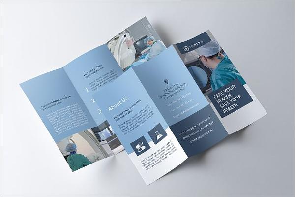 Medicine Tri-fold Brochure Template