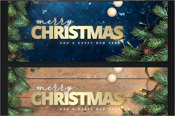 Merry Christmas Background Template