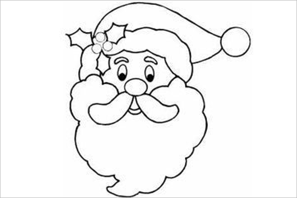 Merry Christmas Santa Template