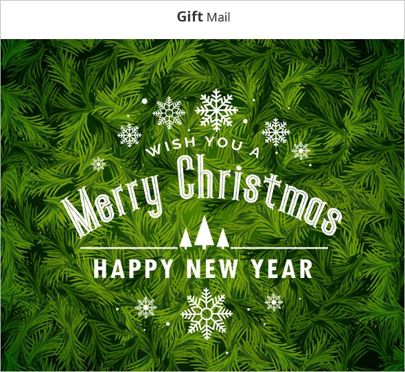 Merry Christmas Website Template
