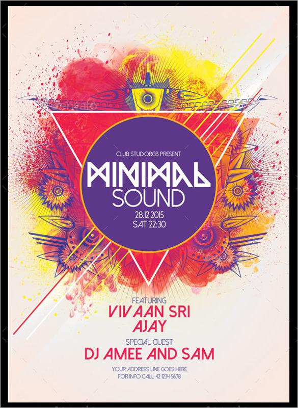 Minimal A3 Poster Design
