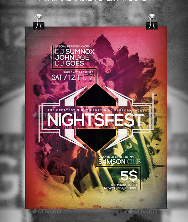 Minimal Band Flyer Template