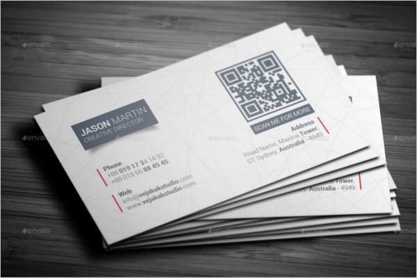 Minimal Custom Business Card Design
