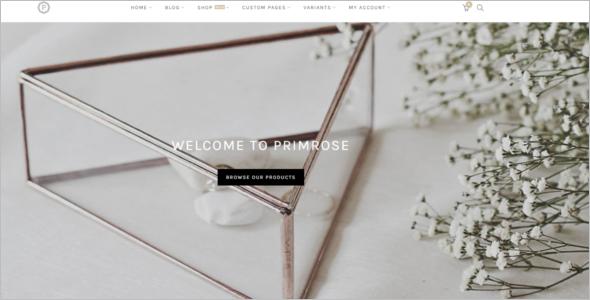 Minimal WordPress Website Theme