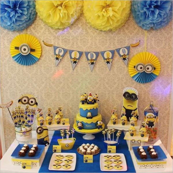 Minions DecorativeBirthday Party Idea