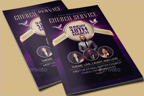 Ministry Church Brochure Template