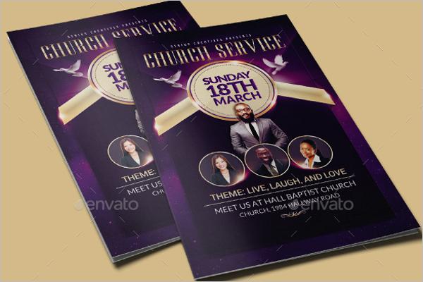 Ministry Church Brochure Template