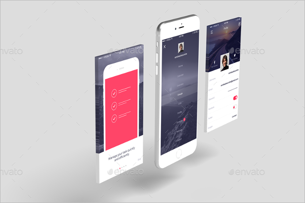 Mobile Application Mockup