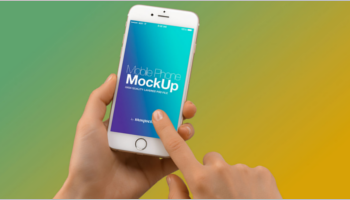 Mobile Mockup PSD Templates