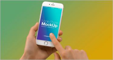 Mobile Mockup PSD Templates