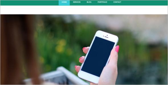 Mobile Website Template