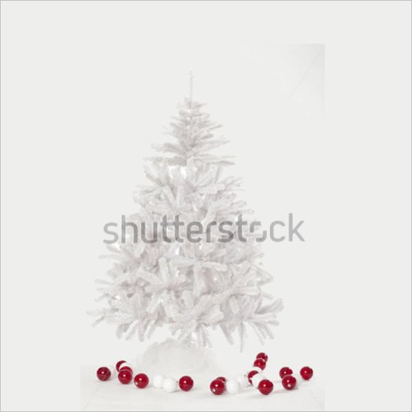 Model White Christmas Tree Ideas