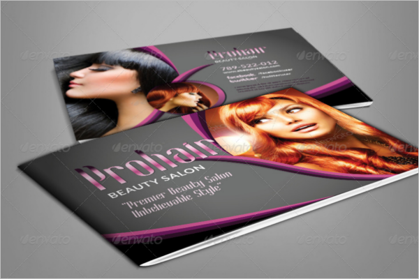 Modern Beauty Salon Brochure Template