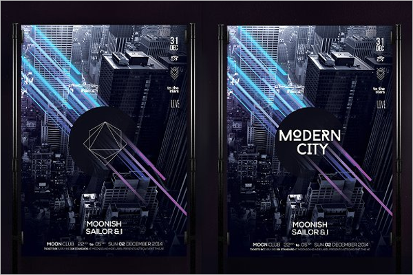 Modern City Dance Poster
