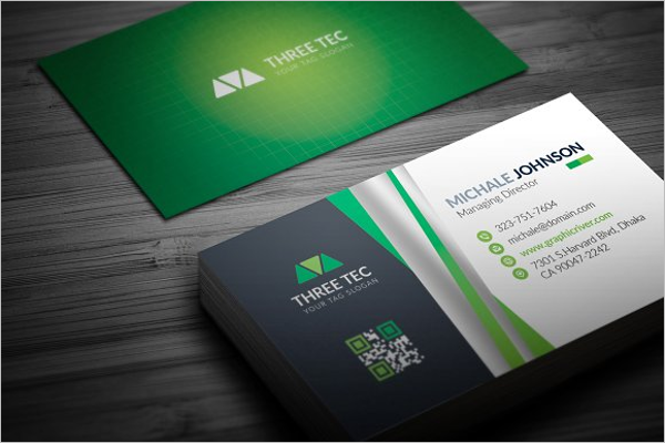 Modern Custom Business Card Design