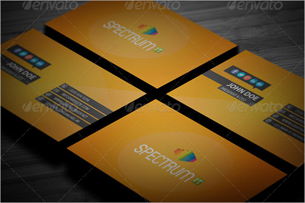 Modern Custom Business Cards