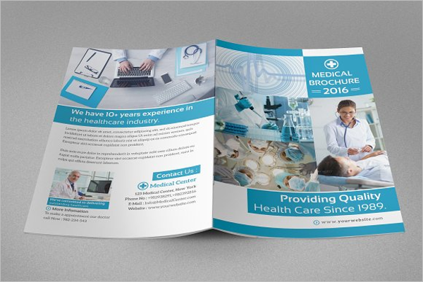 Modern Hospital Brochure Template