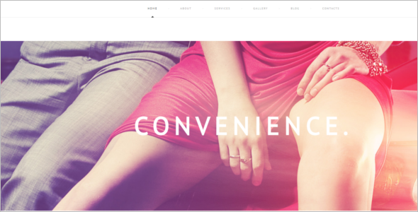 Modern Luxury WordPress Theme