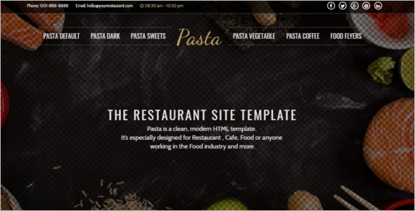 ModernRestaurant Website Template
