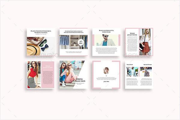 Modern Social Media Pack Design