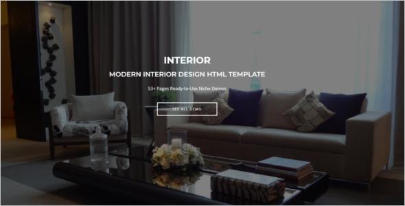 Modern Website HTML Template