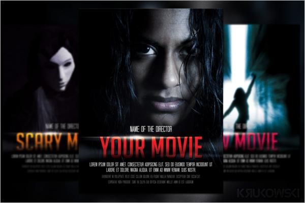 Movie Poster Background Design