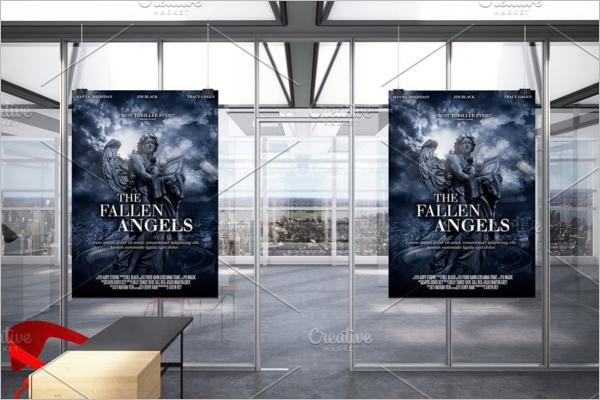 Movie Poster Print Template