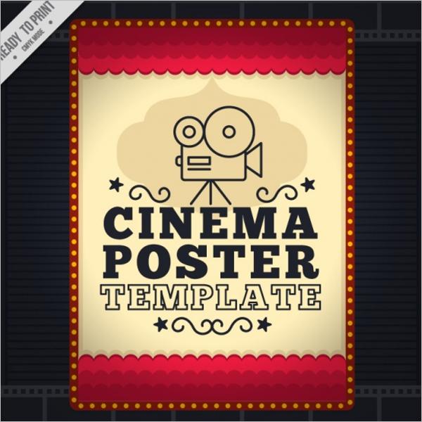 Movie Poster Size Design