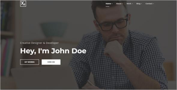 Multi Page Website Template