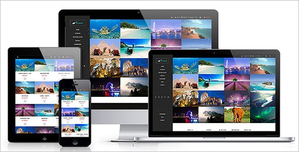 Multi Responsive Tourism Website Template