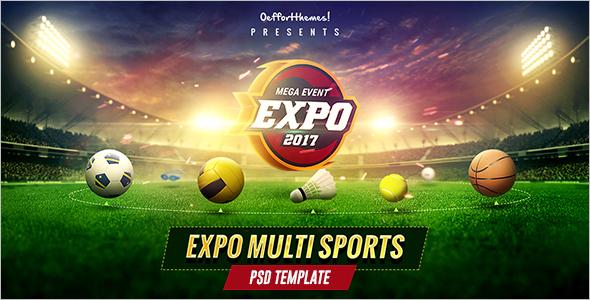 Multi Sports Website Template