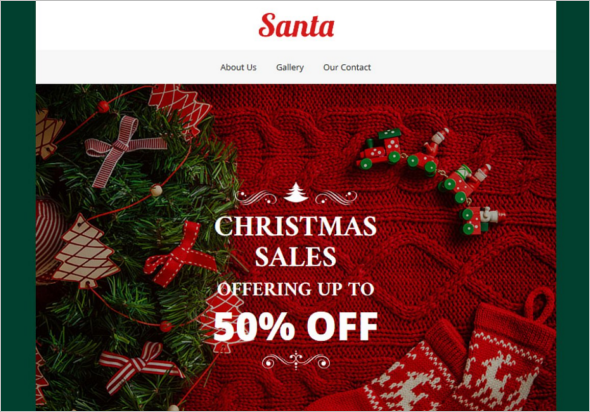 Multipurpose Christmas HTML Template