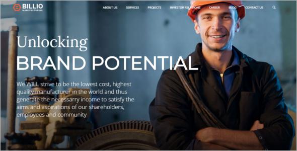 Multipurpose Company WordPress Theme