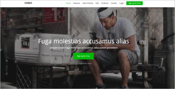 Multipurpose Free Website Template