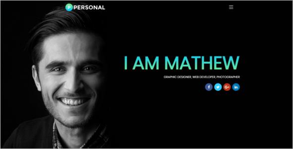 Multipurpose Portfolio Website Template